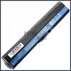 Acer TravelMate B113-M Series 2200 mAh 4 cella fekete notebook/laptop akku/akkumulátor utángyártott
