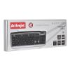 ActiveJet Billentyűzet Activejet K-3111 (USB 2.0; Graphite)