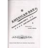 Aczél Miksa AMERICAN BAR - DVD-VEL (REPRINT KIAD., MŰBŐR KÖTÉS)