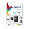 ADATA memory card micro SDHC UHS-I 16GB + SDHC Adapter