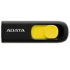 ADATA USB Memory DashDrive UV128 16GB USB 3.0 Black+Yellow