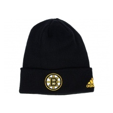 Adidas Boston Bruins TĂŠli sapka adidas NHL Basic Cuff Knit BLK