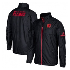 Adidas Calgary Flames fĂŠrfi kabát black Authentic Rink Full-Zip Jacket - L