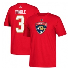 Adidas Florida Panthers fĂŠrfi póló red #3 Keith Yandle Florida Panthers - XXXL