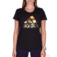 Adidas PERFORMANCE Női Rövid ujjú T Shirt FOIL LOGO