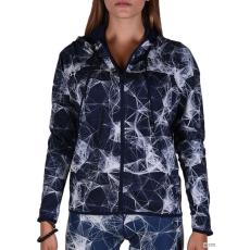 Adidas PERFORMANCE Női Végigzippes pulóver GYM FZ HOODYAOP MULTCO/CONAVY