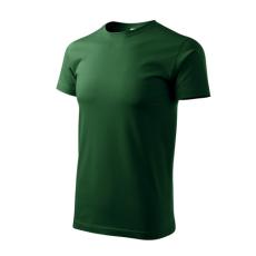 ADLER Heavy New rövid ujjú póló, zöld, 200g/m2