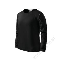 ADLER Long Sleeve ADLER pólók gyerek, fekete