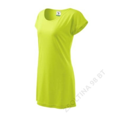 ADLER Love ADLER póló/ruha női, lime szin