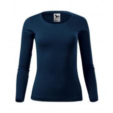 ADLER Női hosszú ujjú póló Fit-T Long Sleeve - Námořní modrá | XXL női póló