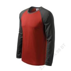 ADLER Street LS ADLER pólók férfi, marlboro piros