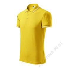 ADLER Urban ADLER galléros póló férfi, sárga
