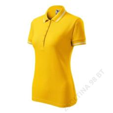 ADLER Urban ADLER galléros póló női, sárga