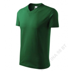 ADLER V-neck ADLER pólók unisex, üvegzöld