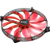 Aerocool SILENT MASTER RED LED ventilátor 200x200x20mm