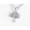 Agrianna Díszes fa ezüst medál