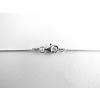 Agrianna Elegáns vékony ezüst lánc