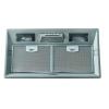 Airmec BASIC 70 PLUS felső szekrénybe vagy kürtőbe építhető páraelszívó