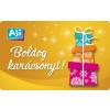 AJI feltölthetõ ajándékkártya-Csillagszóró