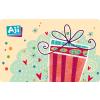 AJI feltölthetõ ajándékkártya-Cuki