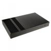 Akasa Galileo Thin Mini-ITX ház, benne a 120W tápegység, OEM - fekete