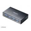 Akasa USB 3.0 HUB Connect 4SV - fekete AK-HB-10BK