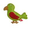 Akinu PREMIUM madár alakú kutyajáték zöld bőrből