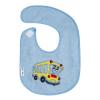 AKUKU Gyerek frottír előke Akuku kék autobussal | Kék |