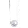 Akzent horgony-nyaklánc ékszer nemesacél, ezüst, hosszúság43 cm + 5 cm VerHosszrung / vastagság 1 mm tartalmaz nyaklánc kiegészítőaus Műanyag