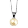 Akzent -nyaklánc ékszer nemesacél, ezüst, hosszúság45 cm / vastagság 2 mm tartalmaz nyaklánc kiegészítőaus nemesacél