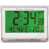 ALBA Falióra, rádióvezérlésű, LCD kijelzős, 22x20 cm, ALBA Horlcdnew, ezüst (BHORLCDNEOE)