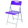 """ALBA Összecsukható szék, fém és mûanyag, ALBA """"Smile"""" lila"""