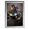 ALBA Plakáttartó, fali, A2, alumínium keret, ALBA, ezüst (BAP27)