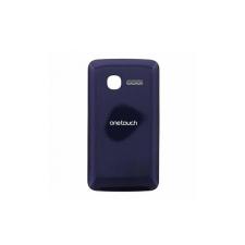 Alcatel OT-4010 akkufedél fekete* mobiltelefon előlap
