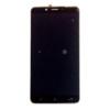 Alcatel OT-7071 A7 XL lcd kijelző érintőpanellel fekete, gyári
