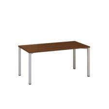 Alfa Office Alfa 200 irodai asztal, 160 x 80 x 74,2 cm, egyenes kivitel, dió mintázat, RAL9022% irodabútor