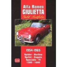 Alfa Romeo Giulietta Gold Portfolio 1954-1965 idegen nyelvű könyv