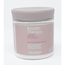 Alfaparf Lisse Design Keratin Therapy Rehydrating hidratáló hajpakolás, 200 g hajregeneráló
