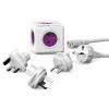 """Allocacoc Elosztó, 5 aljzat,  """"PowerCube ReWirable + 3x plug +IEC EU cable DE"""""""