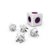 """Allocacoc Elosztó, 5 aljzat,  """"PowerCube ReWirable + 4x plug DE"""" hosszabbító, elosztó"""