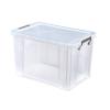 ALLSTORE Műanyag tárolódoboz, átlátszó, 26 liter,