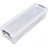 ALLSTORE Műanyag tárolódoboz, átlátszó, 2,2 liter, ALLSTORE