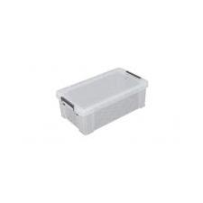 ALLSTORE Műanyag tárolódoboz, átlátszó, 5,8 liter, ALLSTORE papírárú, csomagoló és tárolóeszköz