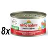 Almo Nature HFC CAT Csirke és garnélarák 8 x 70 g
