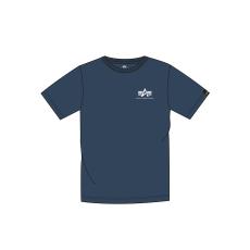 Alpha Indsutries Basic T Small Logo - replica blue