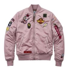 Alpha Indsutries MA-1 VF PATCH Női - silver pink
