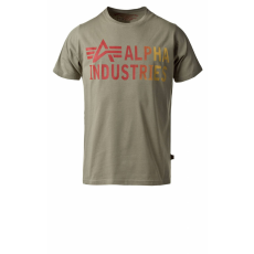 Alpha Industries Basic T Print 3 - olive póló