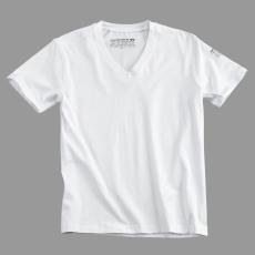 Alpha Industries Bodywear V Neck - fehér póló