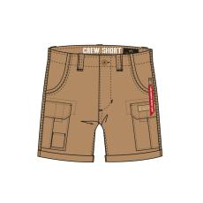 Alpha Industries CREW SHORT - khaki