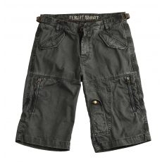Alpha Industries Flight Short - szürkés fekete